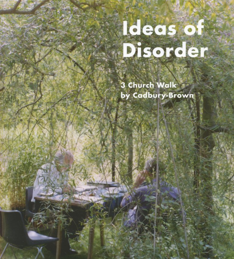 Ideas of Disorder – Cover