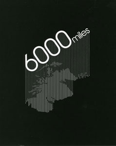 6000 Miles – Cover